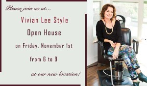 Please join us on Friday, November 1st, from 6 to 9 pm for an evening of beauty, shopping and fun, as Fremont welcomes Vivian Lee Style! Consider beginning your evening with a visit to Bellefleur and Lamb's Ear Shoes to check out new arrivals! Then pop on over to Essenza for some pretty jewels, fragrances and skin care, and don't forget to check out Les Amis around the corner for gorgeous holiday attire! The party culminates on the 4th floor of the Saturn Building across the street at Vivian's new studio, where champagne will flow and vintage records will be spinned! Oh, and did we mention mini make overs by make up artist Michael McCarthy and goddie bags? See you there! xx